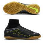 Детские футзалки Nike HypervenomX Proximo IC чёрные