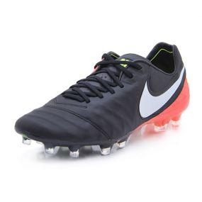 Футбольные бутсы Nike Tiempo Legend VI FG чёрно-красные