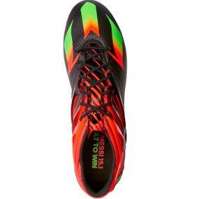 Бутсы adidas Messi 15.1 FG/AG чёрные