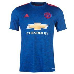 Игровая футболка клуба adidas Manchester United Football Club Away Jersey тёмно-синяя