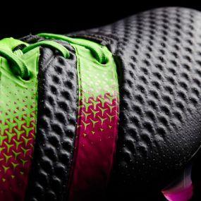 Бутсы с носком adidas Ace 16.1 Primeknit FG/AG чёрные