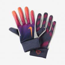 Перчатки Nike Hyperwarm Fieldplayer разноцветные