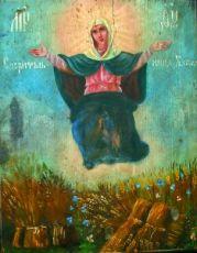 Спорительница хлебов (копия старинной иконы)