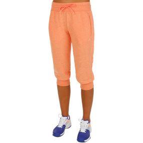 Женские бриджи 3/4 adidas Essentials 3 Stripes 3/4 Pants оранжевые
