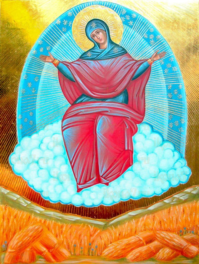 Спорительница хлебов (икона на дереве)