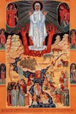 Икона Целительница (копия старинной)