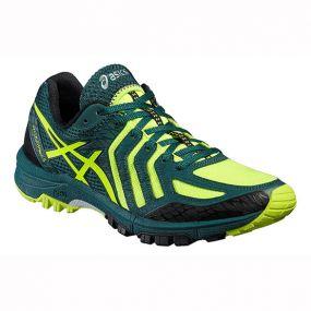 Кроссовки Asics Gel-Fujiattack 5 зелёные