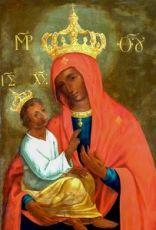 Холмская икона Божией Матери (копия 18 века)