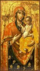 Ильинско-Черниговская икона Божией Матери (копия 18 века)