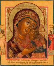 Чухломская (Галичская) икона Божией Матери (копия старинной)