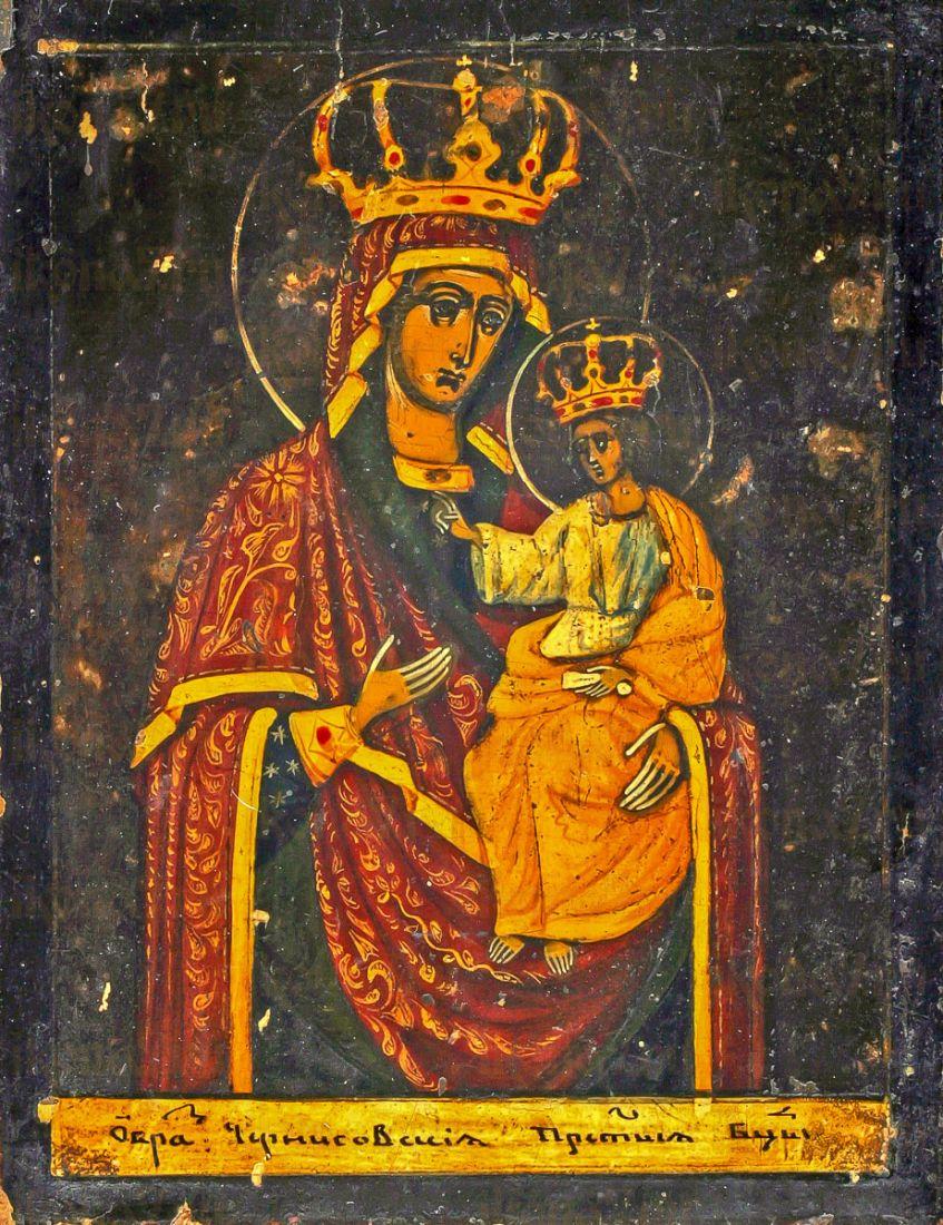 Черниговская Гефсиманская икона Божией Матери (копия старинной)