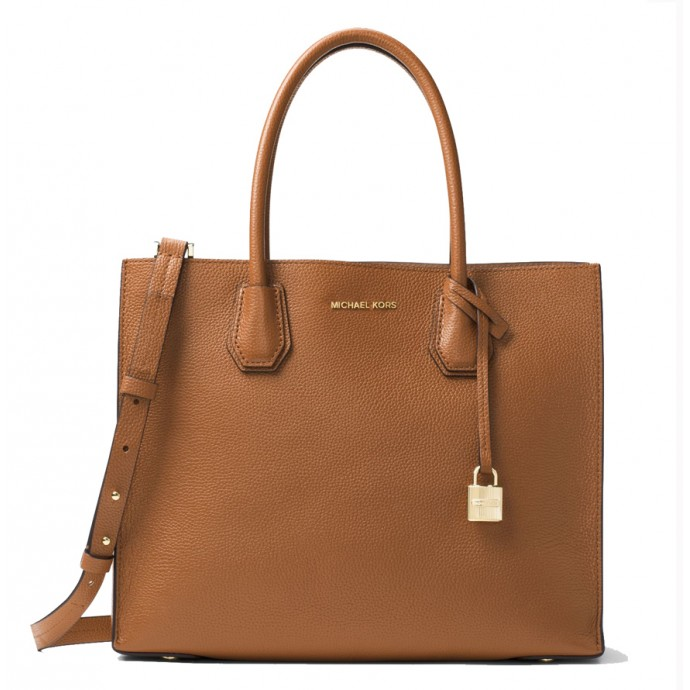 Michael Kors Mercer Tote brown