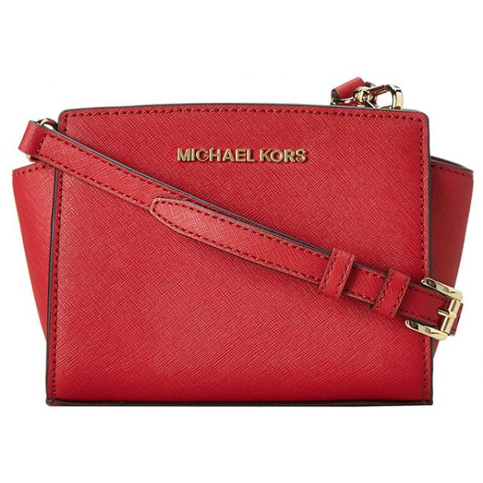 Michael Kors Selma mini red