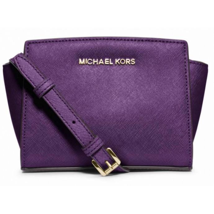 Michael Kors Selma mini violet