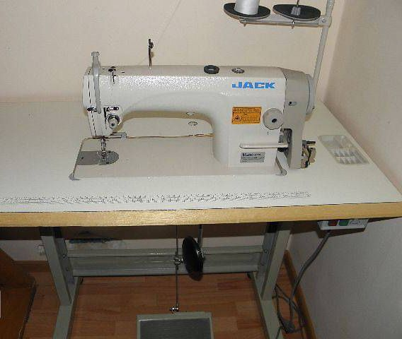 Швейная машина JACK 8720 / цена 28500 руб. (энергосберегающий мотор)