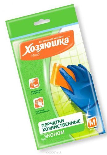 ..Перчатки хозяйственные латексные 100шт