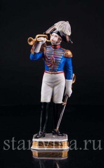 Изображение Трубач дворянской гвардии, 1801, Volkstedt, Германия, вт. пол. 20 в