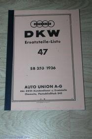 Каталог з/ч SB 350 1936 г