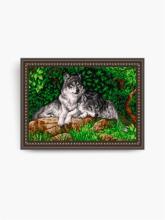 VKA3001. Волки А3 (набор 1700 рублей) Art Solo