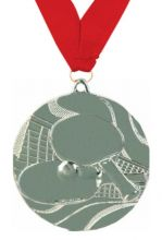 Медаль Настольный теннис наградная с лентой 50 мм