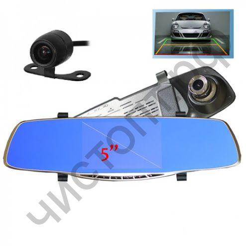 Видеорегистр. - зеркало + камера TS-CAR11 (68)