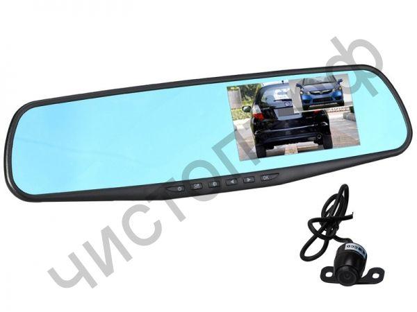 Видеорегистр. - зеркало + камера TS-CAR13 (74)