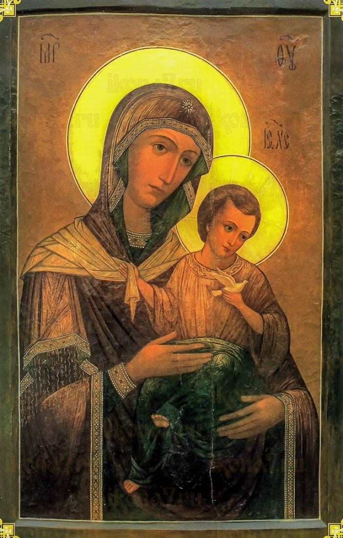 Икона Цареградская икона Божией Матери