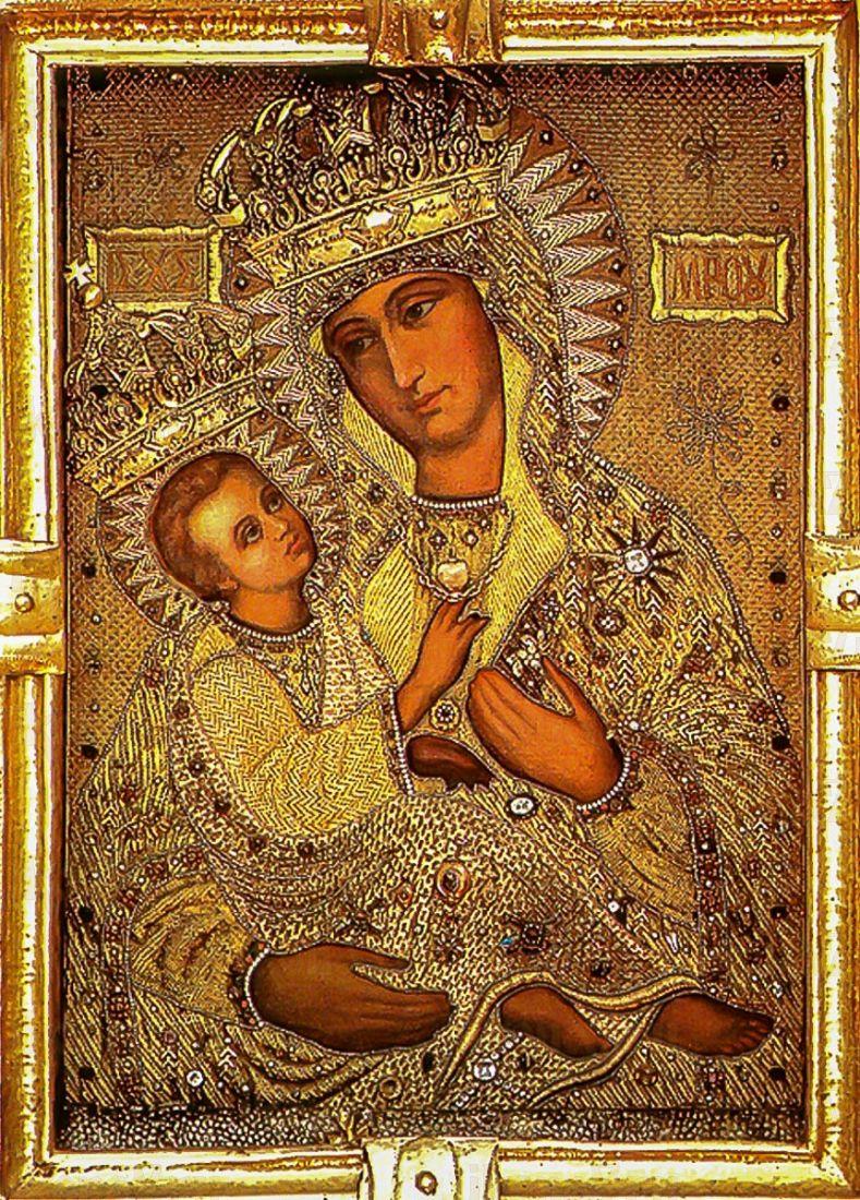 Холмская икона Божией Матери (копия старинной)