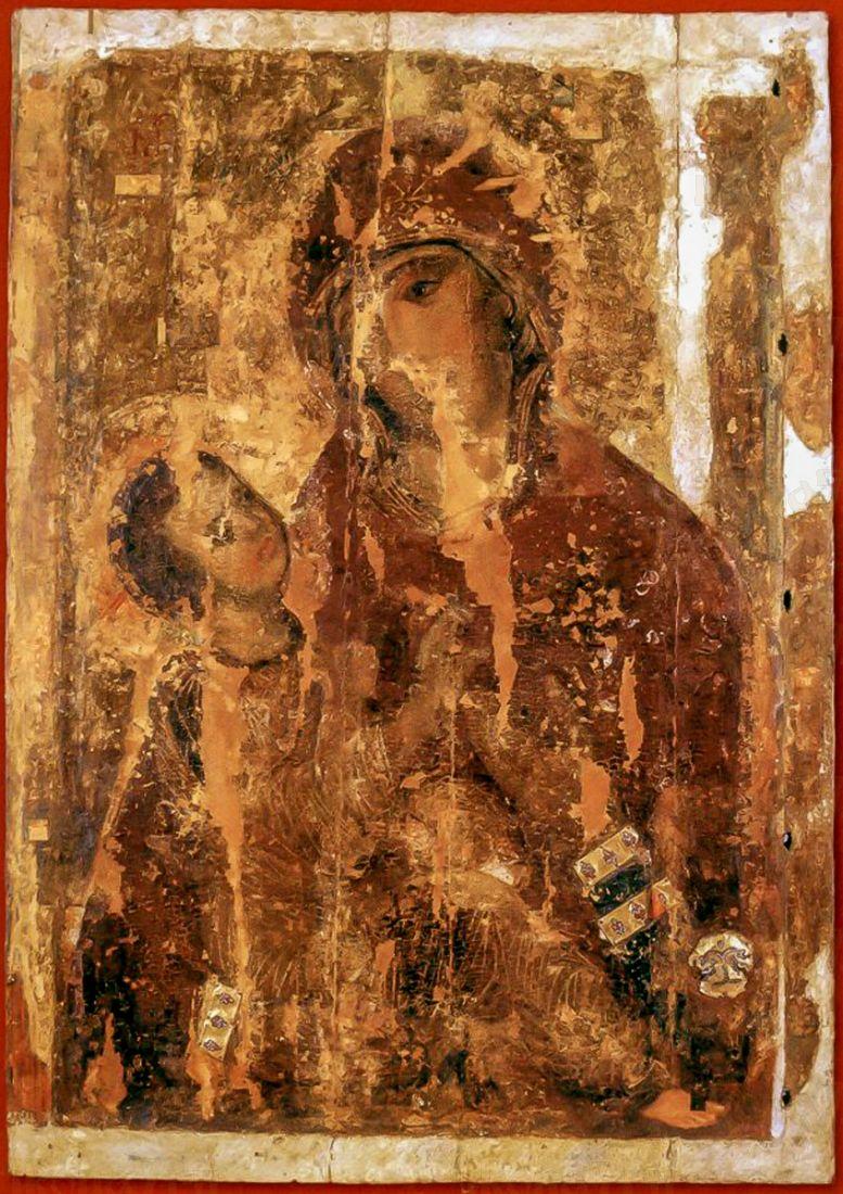 Холмская икона БМ (копия 12 века)