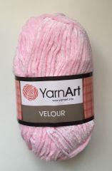 Velour (Yarnart) 854-розовый
