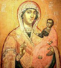 Седмиезерная икона Божией Матери (копия старинной)