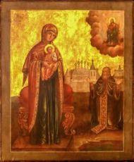 Икона Ржевская (Оковецкая) (копия старинной)