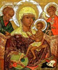 Икона Процветшая (Молдавская) (копия старинной)