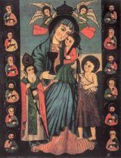 Армянская икона БМ (копия старинной)