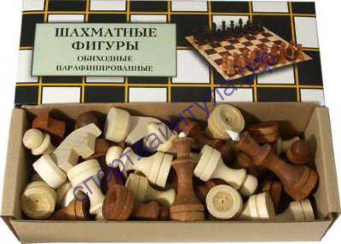 Шахматные фигуры № 3 в КОРОБКЕ парафин