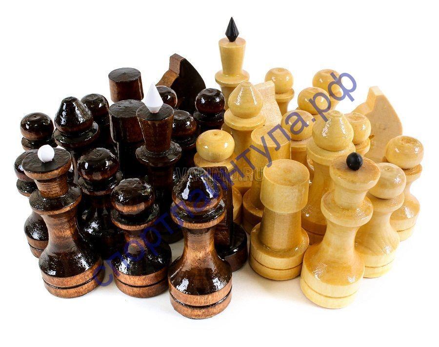 Шахматные фигуры № 3 лакированные