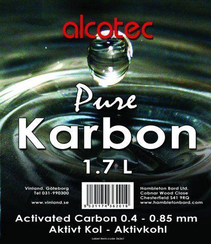 Минеральный уголь для браги Alcotec Spirit Carbon 1кг