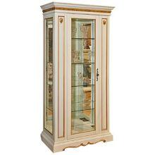 Шкаф с витриной МИЛАНА 8 П265.08-01 эмаль