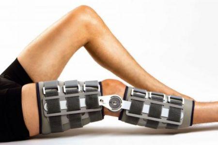 Шарнирный иммобилизирующий коленный ортез Otto Bock Genu Immobil Vario 8065