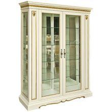 Шкаф с витриной МИЛАНА 5 П265.05 эмаль