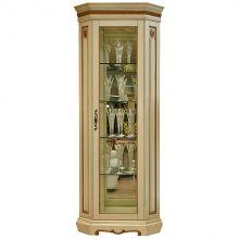 Шкаф с витриной МИЛАНА 10 П265.10 эмаль