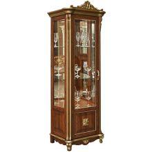 Шкаф с витриной АЛЕЗИ 8 ЛЮКС П.350.08л, П350.08-01л