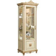 Шкаф с витриной АЛЕЗИ 8 ЛЮКС П.350.08л, П350.08-01л эмаль