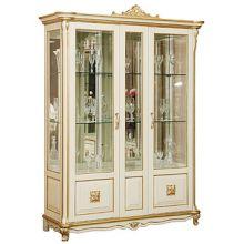 Шкаф с витриной АЛЕЗИ 5 ЛЮКС П.350.05л эмаль