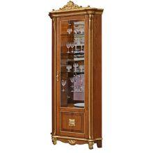 Шкаф с витриной АЛЕЗИ 10 ЛЮКС П.350.13л, П350.13-01л