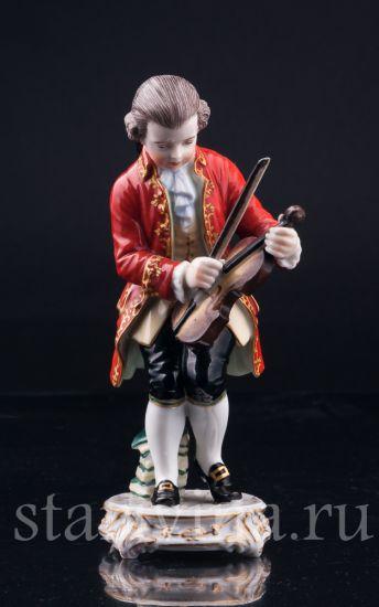 Изображение Юный Моцарт, Dressel, Kister & Cie, Германия, нач. 20 в