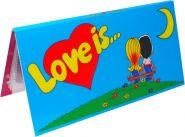 БУКЛЕТ для вкладышей (СИНИЙ) LOVE IS... ИСТОРИЯ ЛЮБВИ