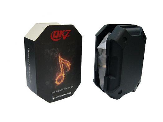 Наушники вакуумные - гарнитура QKZ X6
