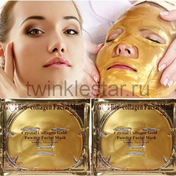 Золотая коллагеновая маска для лица Gold Bio-Collagen Facial Mask