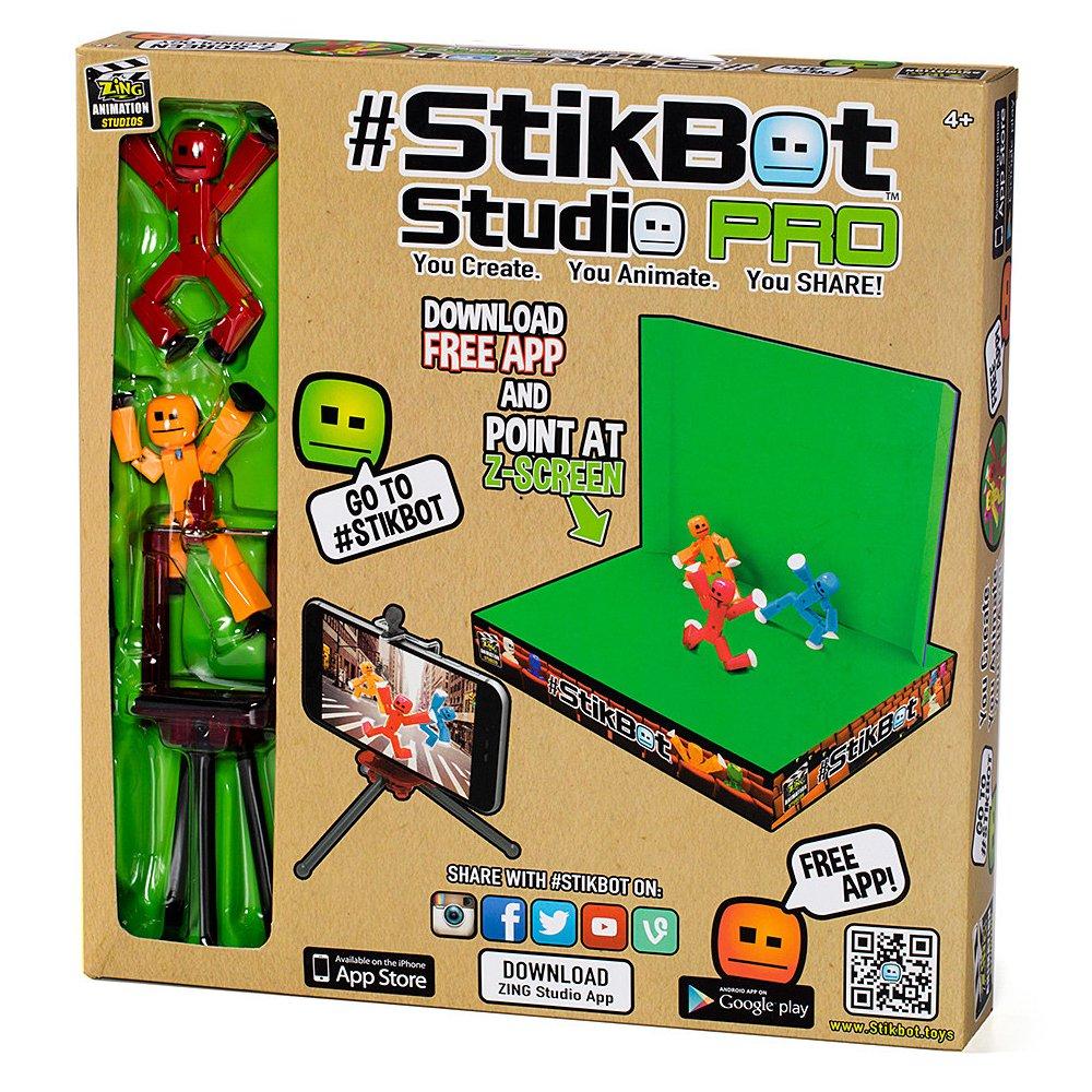 Cтикбот набор - Stikbot Studio